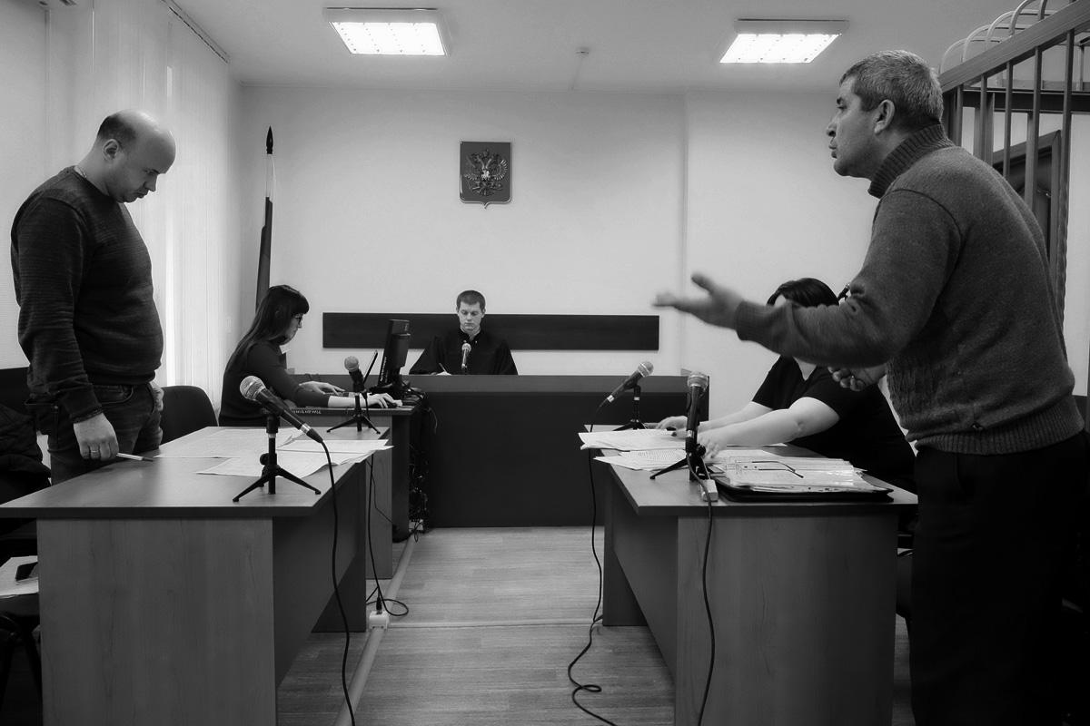 Заседание Балтийского городского суда, судья Анатолий Агуреев