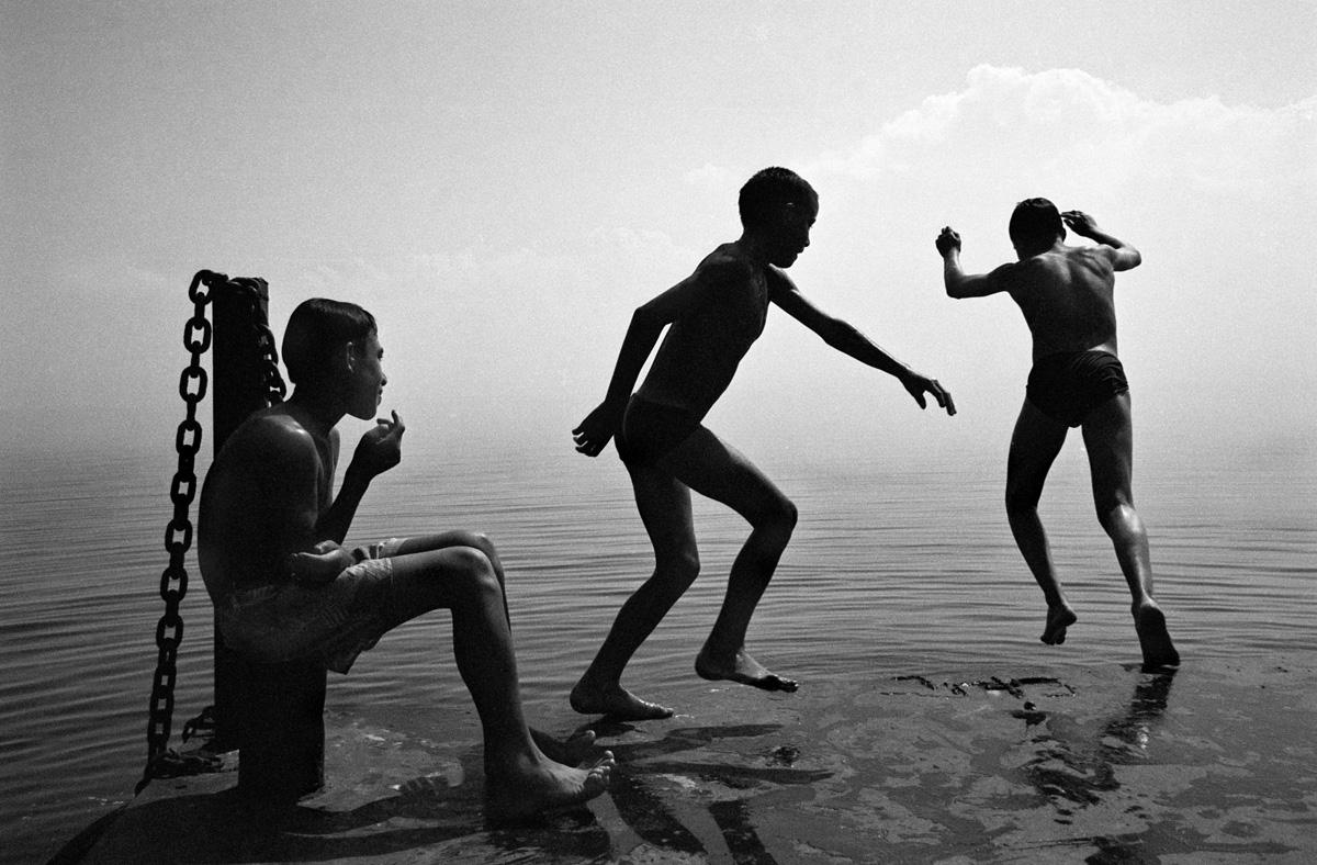 Купальщики. Фото Олега Климова