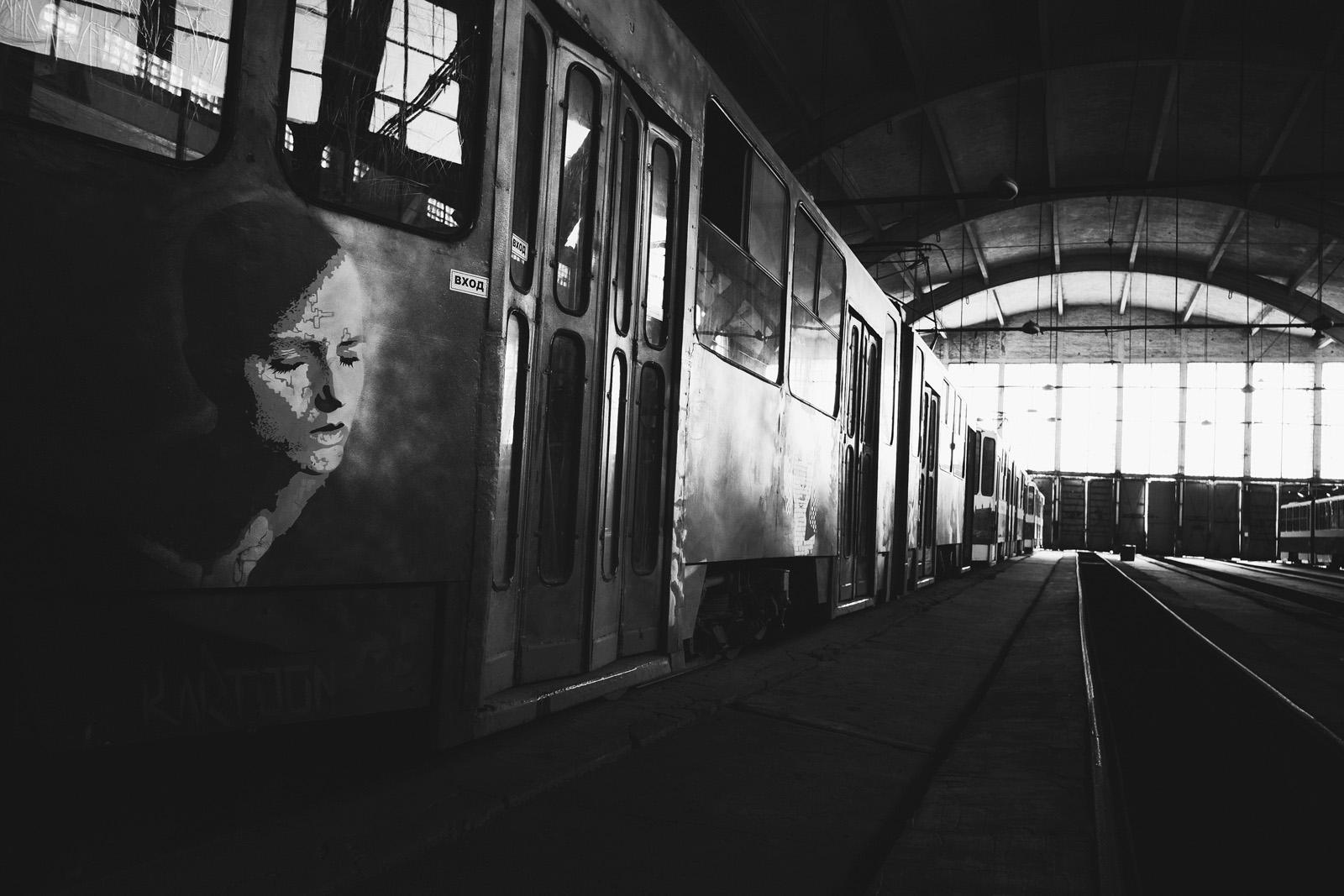 Трамвайное депо © Алексей Балашов для PREGEL.INFO