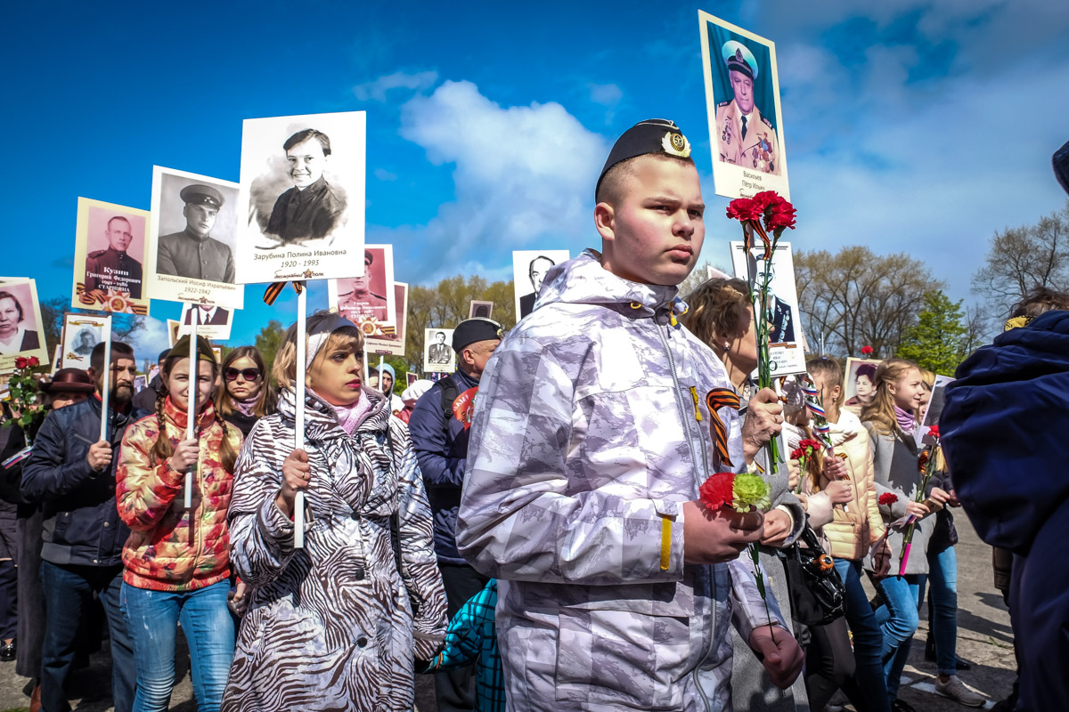 Балтийск, 9 мая 2017. Фото Алексанра Пожидаева для PREGEL.INFO