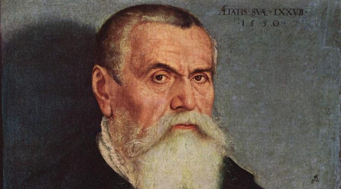 Портрет Лукаса Кранаха Старшего, 1550, PREGEL.INFO