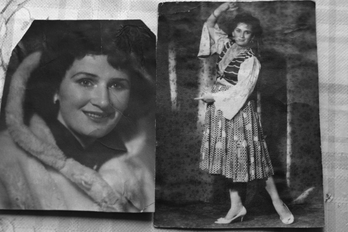 Валентина Иевлева 40-е годы