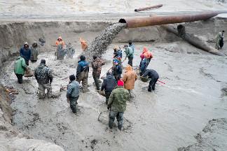 Нелегальная добыча янтаря. Фото Артёма Килькина для PREGEL.INFO