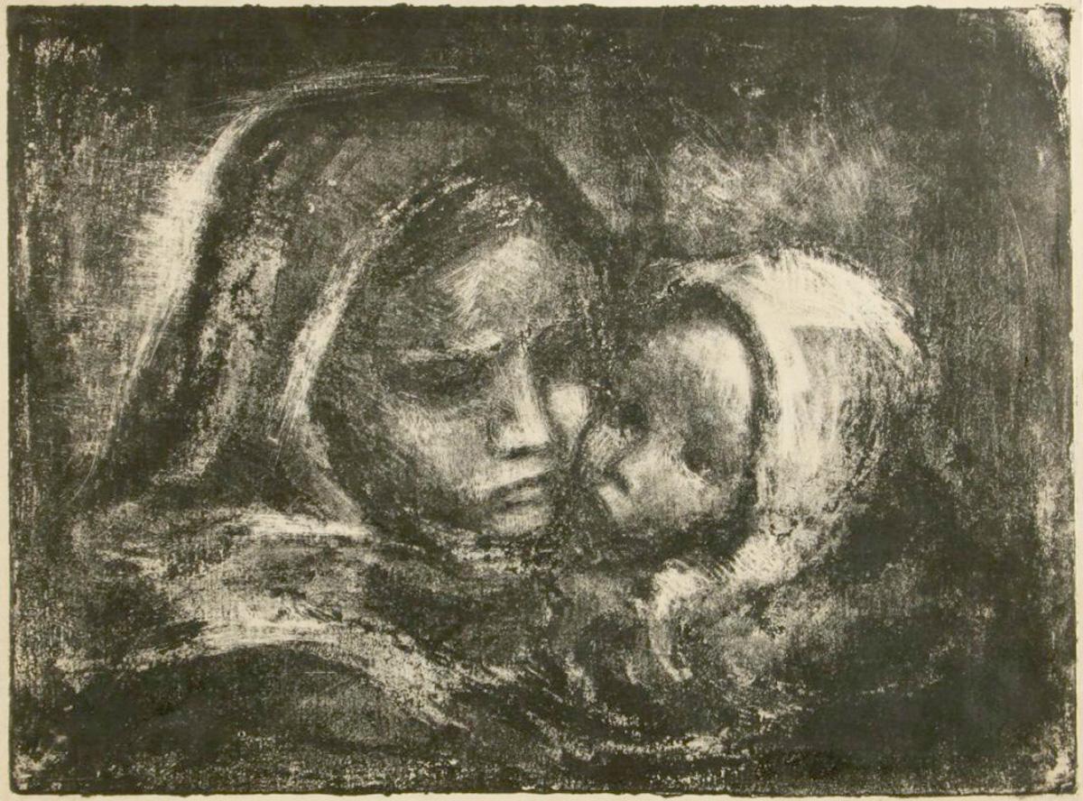 Виктор Слыщенко. «Мать» из серии «Блокада»