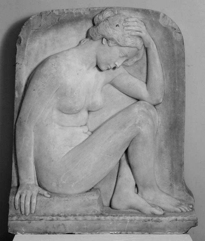 Станислаус Кауэр. Гениус. Мрамор, 1903. Калининградская художественная галерея