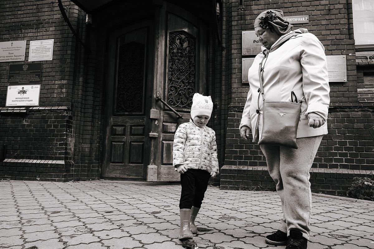 Во дворе дома по улице Кирпичная, 7. Алексей Балашов для PREGEL.INFO