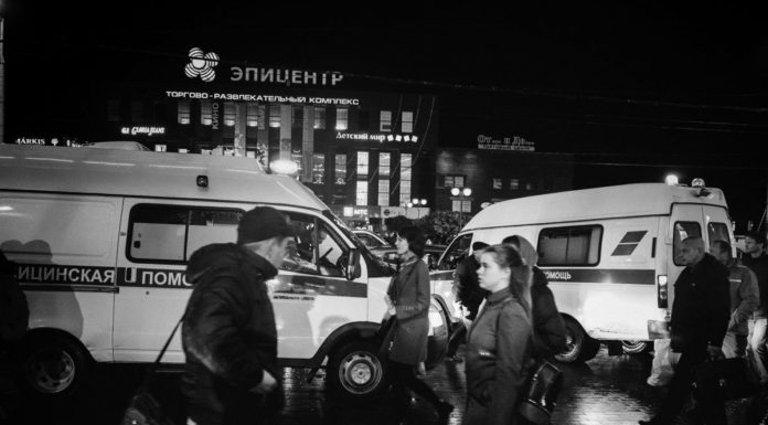 Эвакуация Калининграда, фоторепортаж Алексея Балашова