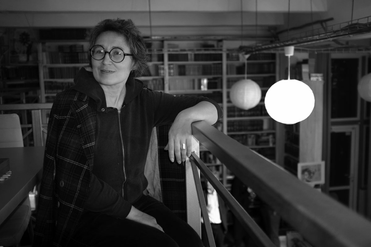 Татьяна Чистова, режиссёр, продюсер, архивист. Фото Арне Зоммер (Arne Sommer) для PREGEL.INFO