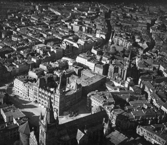 Аэрофотосъемка Кёнигсберга (ныне Калининград) в период 1942-1944 года