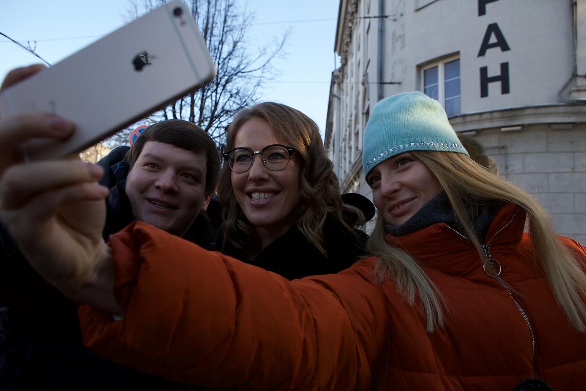 Ксения Собчак в Калининграде. Фото: Софья Сандурская для PREGEL.INFO