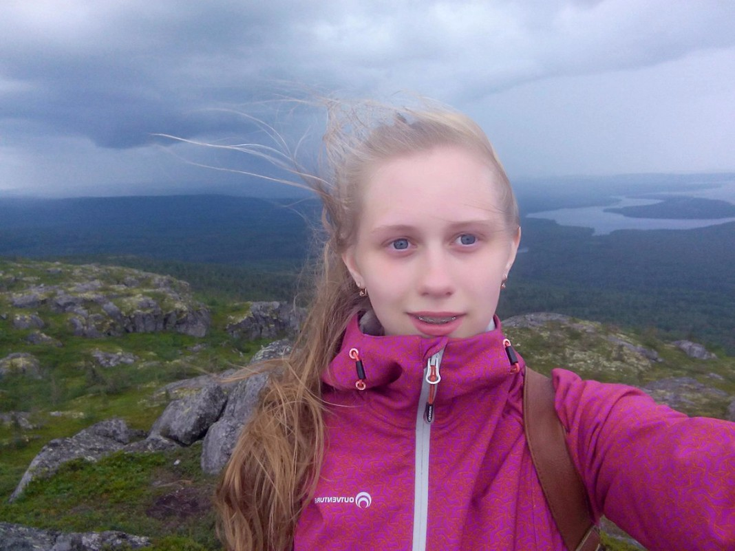 Юлия Юсупова из Карелии, победительница в группе от 17 лет и старше. PREGEL.INFO