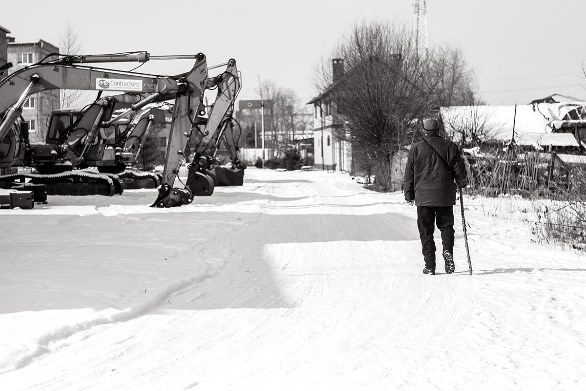 Переулок Заречный, Гурьевск © Алексей Балашов для PREGEL.INFO