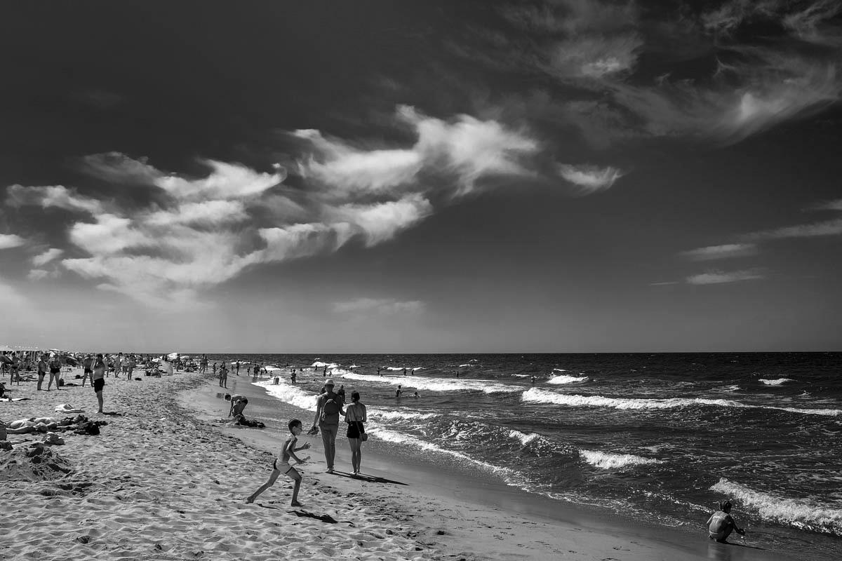 Пляж, Поселок Янтарный © Александр Пожидаев для PREGEL.INFO