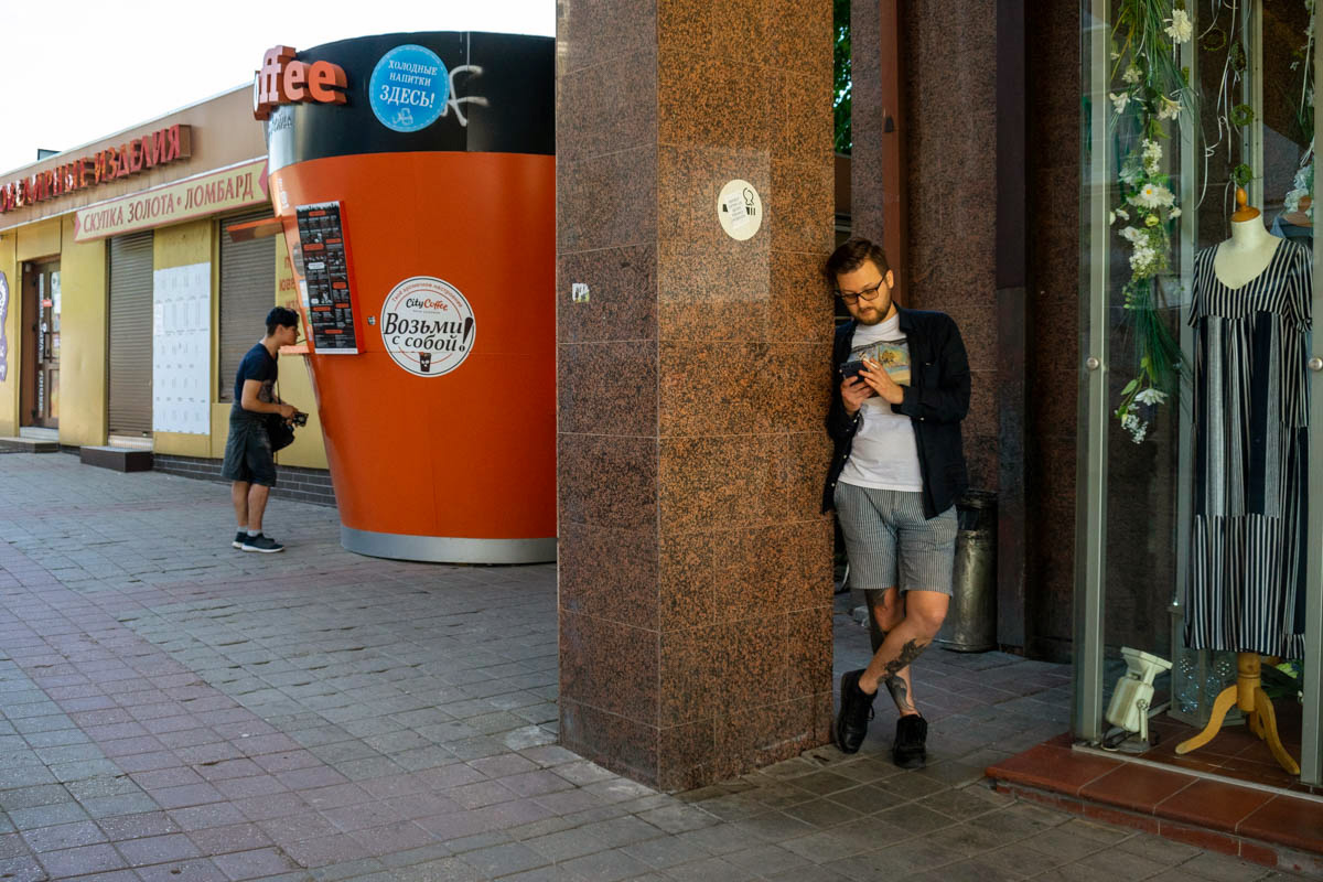 Улица Гаражная, Калининград © Александр Пожидаев для PREGEL.INFO