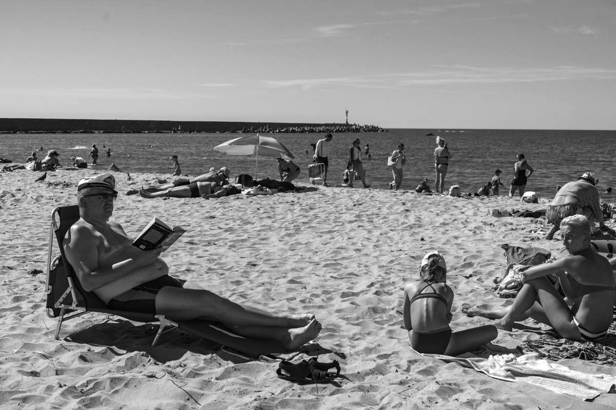 Пляж, Балтийск © Александр Пожидаев для PREGEL.INFO