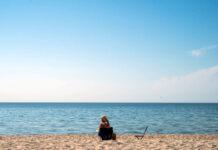 Пляж, Янтарный, Калининградская область © Александр Пожидаев для PREGEL.INFO