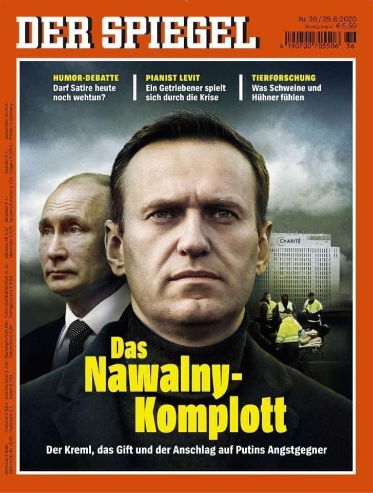 Навальный, Путин pregel.info